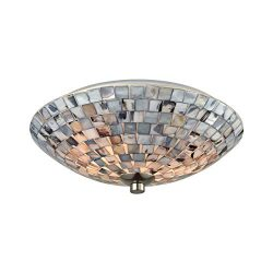 Elk Lighting 10401/2 Close-to-Ceiling-Light-fixtures, Gray