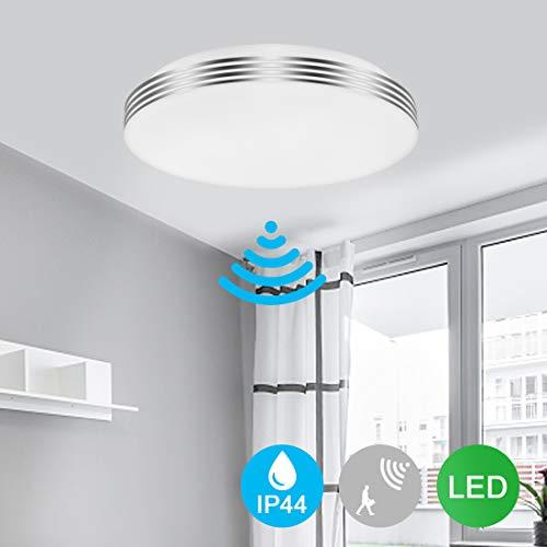 Led Flush Mount Ceiling Light, Radar Motion Sensor, 18W