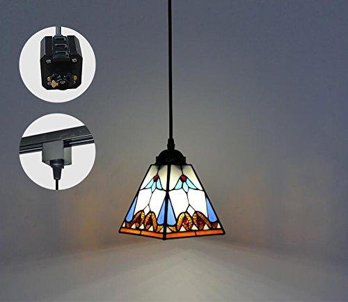 KIVEN H-Type 3 Wire Track Light Pendants Length 3.3 feet Restaurant Chandelier Decorative Chande ...