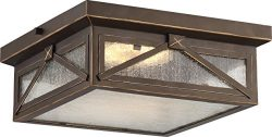 Nuvo Lighting One Light Nuvo 62/813 LED Outdoor Flush Mount