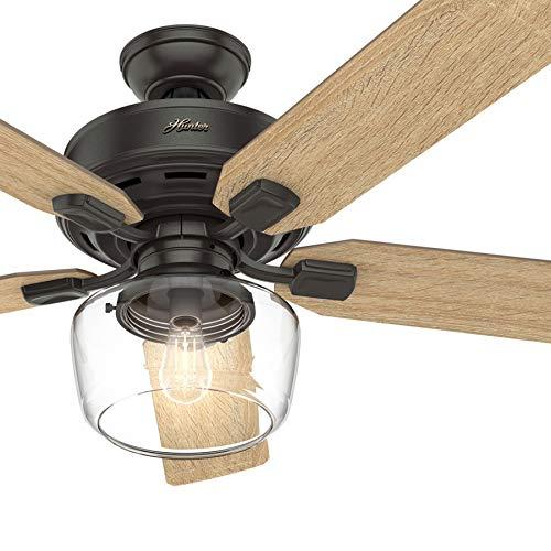 Hunter Fan 52 Inch Casual Nobel Bronze Indoor Ceiling Fan
