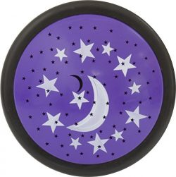 GE LED Star Tap Light, Projects Moon and Stars on the Ceiling, Tap On/Off, Battery Operated, 30  ...