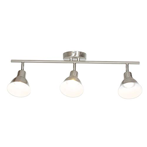Illuma Flex Track Lighting Installed In A Kitchen From: MELUCEE Track Lighting With 3-Light Adjustable Track Heads
