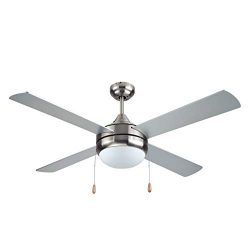 BLACK+DECKER BCF5252 Ceiling Fan Silver Finish
