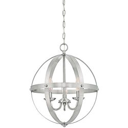 Westinghouse Lighting 6341900 Stella Mira Indoor Chandelier Brushed Nickel