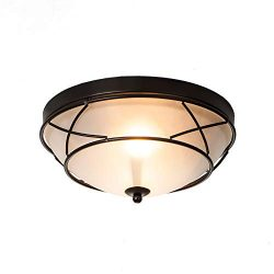 Wtape Vintage 2 Light Crystal Chrome Finish Semi-Flush Mount Ceiling Light, Ceiling Fixture for  ...