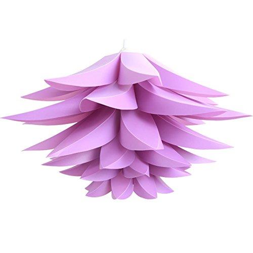 Lotus Shape Chandelier Pendant Ceiling Lamp DIY Home Living Room Bedroom Decoration Shade Hangin ...