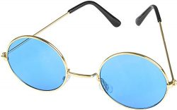 Rhode Island Novelty Light Blue John Lennon Sunglasses | One Pair |