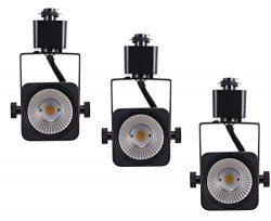 Cloudy Bay LED Track Lights Head,CRI 90+ Warm White Dimmable,Adjustable Tilt Angle Track Lightin ...