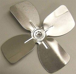 Packard A61470 Aluminum Fan Blade 6 In. Diameter 4 Blades 1/4 In. Shaft Cw