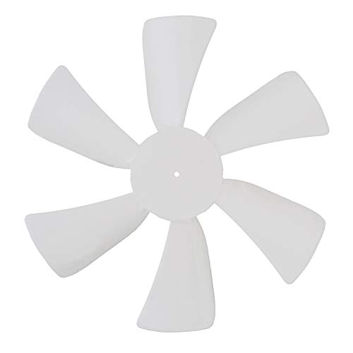 "Dumble Fan Blades Replacement with 0.094"" Round Bore, 6"" Inch White RV Bathroom Fan Blade Replac ..."
