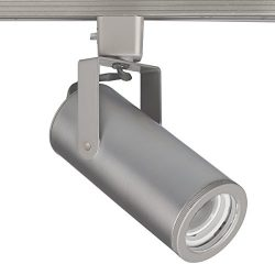 WAC Lighting H-2020-930-BN H Series LED2020 Silo X20 Beamshift Track Head in Brushed Nickel Fini ...