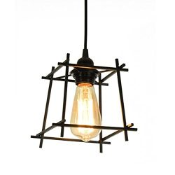 Lysed Pendant Light,Industrial Iron Art Style,Ceiling Lamp Pendent Fixture for Dinning Room Livi ...