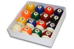 Empire USA Deluxe Pool Ball Set Standard Size 2-1/4″