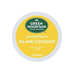 Green Mountain Coffee, Island Coconut, Single-Serve Keurig K-Cup Pods, Light Roast, 72 Count (3  ...