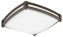 Lithonia Lighting FMSSATL 13 14840 BZA M4 LED Saturn Flushmount Ceiling Light Fixture for Kitche ...
