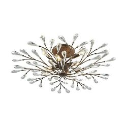 Elk Lighting 18242/8 Close-to-Ceiling-Light-fixtures 10 x 32 x 32″ Bronze