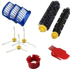 DLD Accessory for Irobot Roomba 600 610 620 650 Series Vacuum Cleaner Replacement Part Kit ̵ ...