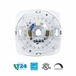 Silverlite 4″,17W,4000K,1200LM,120V,CRI90,Dimmable LED Light Engine,Retrofit Light Kit for ...