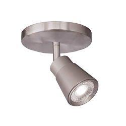 WAC Lighting TK-180501-30-BN Solo Energy Star LED Monopoint, 1 Light,