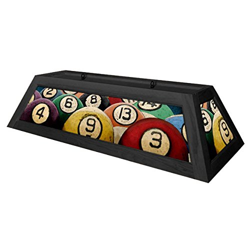 Rack'em Billiard Ball Pool Table Light – Black