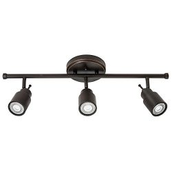 Lithonia Lighting LTFSTCYL MR16GU10 LED 27K 3H ORB M4 3 Fixed-Track Lighting Kit, Oil Rubbed Bronze