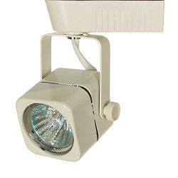 Direct-Lighting 50012 White MR16 Square Low Voltage Track Lighting Head