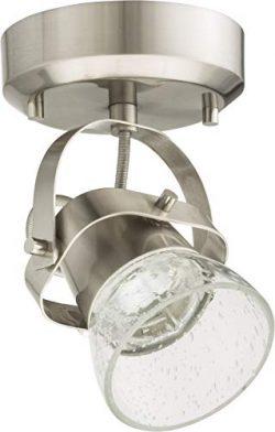 Lithonia Lighting LTFSGLS 27K 90CRI BN M4 1-Light LED Linear Seeded Glass Fixed Track Kit, 2700K ...