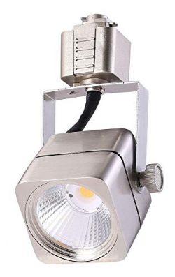 Cloudy Bay LED Track Light Head,CRI 90+ Warm White 3000K Dimmable,Adjustable Tilt Angle Track Li ...