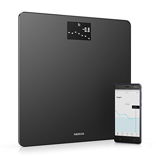Withings / Nokia | Body – Smart Weight & BMI Wi-Fi Digital Scale with smartphone app,  ...