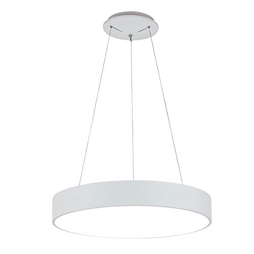 ROYAL PEARL Modern LED Pendant Light Foyer Chandelier Adjustable Contemporary Hanging Ceiling Li ...