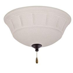 Emerson Ceiling Fans LK141ORB Grande White Mist Ceiling Fan Light Fixture