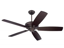 Emerson Ceiling Fans CF784ORB Carrera, 60-Inch Indoor Ceiling Fan, Light Kit Adaptable, Oil Rubb ...