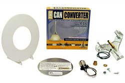 Light Recessed Flat Canopy Converter R56-RMF-WHT Conversion Kit for 5″ and 6″ Cans