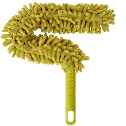 DocaPole Microfiber Flex-and-Stay Ceiling Fan Duster // Fan Duster with Removable Microfiber Che ...