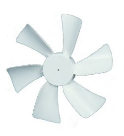Ventmate 65491 White 6″ Replacement Ventline Fan Blade with 0.094″ Round Bore