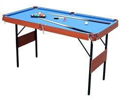 HLC 55″ Folding Space Saver Pool Billiard Table