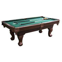 Barrington Springdale 90″ Claw Leg Billiard Table Set with Cues, Rack, Balls, Brush, and C ...