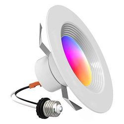 iLintek Smart Recessed Lighting – Lumary 5/6 inch WiFi Led Downlight Color Changing Recess ...