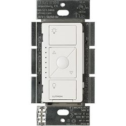 Lutron PD-5NE-WH ELV Caseta Wireless Electronic Low Voltage In-Wall Dimmer, 1 pack, White