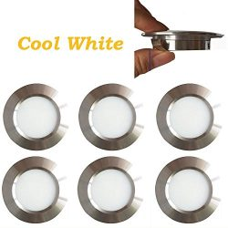 12v-LEDlight Halogen Replacement Silver Recessed Lighting Kit – Low Voltage LED Under Cabi ...