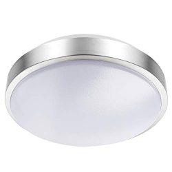 Lineway Motion Sensing Ceiling Light Indoor/Outdoor LED Flush Mount Light Fixture 15W 3000K Ceil ...