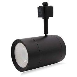Maxxima LED Track Light Head, Adjustable, Dimmable MR16 Fixture, 3000K Warm White 90 CRI, 1200 L ...