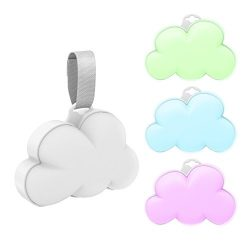 Pure Enrichment Baby Cloud Portable Sound Machine and Color-Changing Night Light – Plays 1 ...