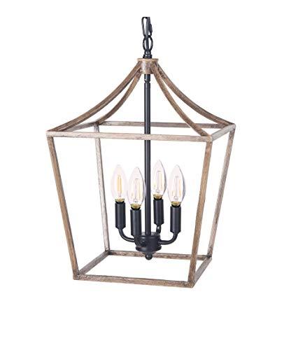 Homenovo Lighting Marden Farmhouse 4-Light Chandelier