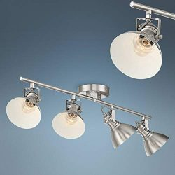 Otis 4-Light Bushed Nickel Metal Track Fixture – Pro Track