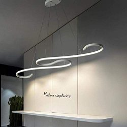 BOSSLV Hanging Light Modern Minimalist Chandelier Creative Personality Fashion Ceiling Light Met ...