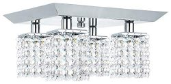 NOMA Track Light Kit | Adjustable Semi-Flush Mount Ceiling Light Fixture | Perfect for Kitchen,  ...