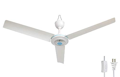 28″ Inch 110V AC electric Ceiling Fan Energy Saving Indoor Ceiling Fan Outdoor gazebo ceil ...
