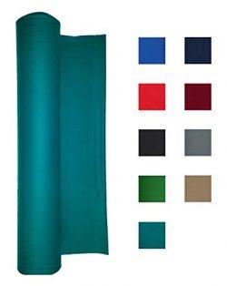 Performance Grade Pool Table Felt – Billiard Cloth – for 8 Foot Table Standard Green